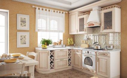Дизайн белой кухни в