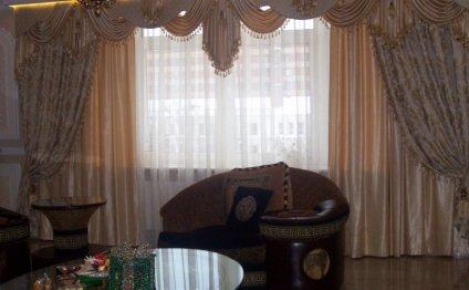 Дизайн и пошив штор для