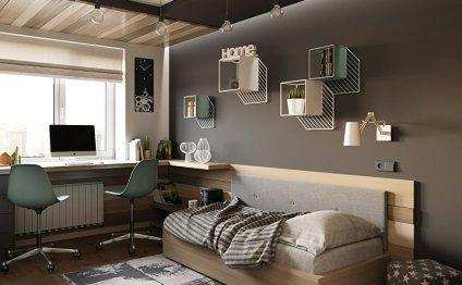 Дизайн подростковой спальни 13