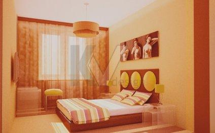 Дизайн спальни своими руками в