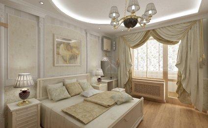 шторы для спальни в
