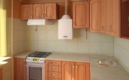 Дизайн кухни с газовой