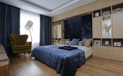 Дизайн спальни 20 кв.м. с
