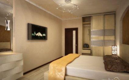 Дизайн спальни в