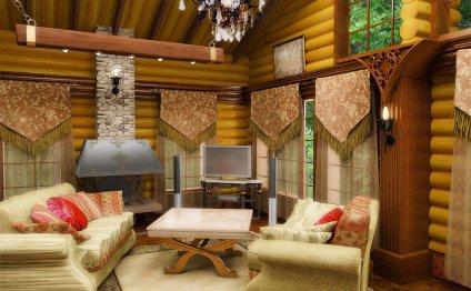 Дизайн загородного дома Дизайн