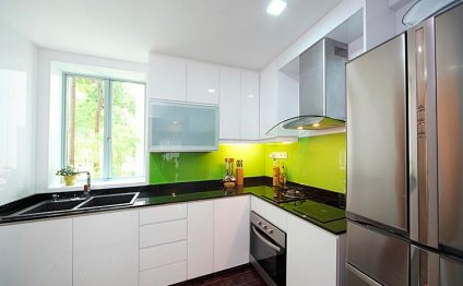 Дизайн интерьеров кухонь в