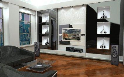 Гостиная комната — дизайн