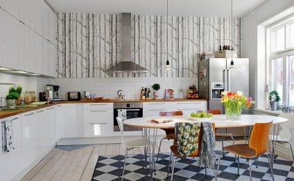Идеи интерьера кухни с