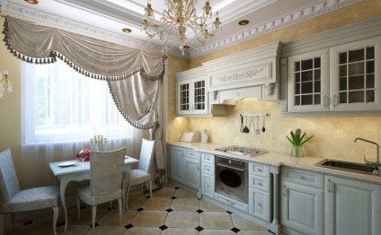 Интерьер кухни в классическом