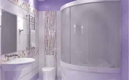 Интерьер ванной комнаты, фото