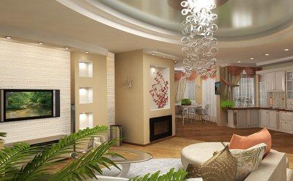 Дизайн интерьера 2-х комнатной