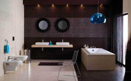 Оформление ванной комнаты в