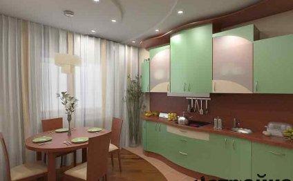 кухни 15 кв м фото