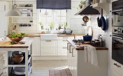 Кухни в стиле прованс от IKEA