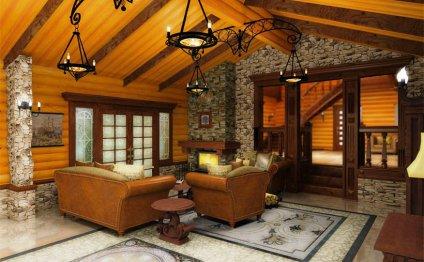 Дизайн внутренней отделки дома