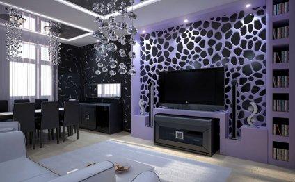 Потолок в стиле модерн