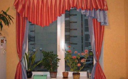 Фото штор для кухни