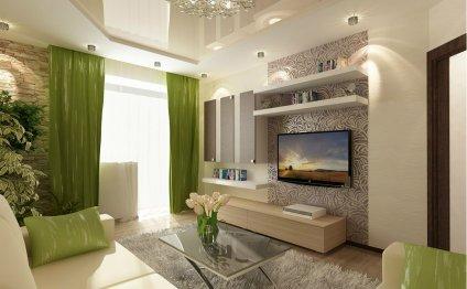 Дизайн квартиры-студии 30 кв