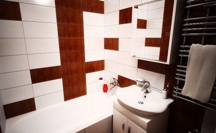 Типовой дизайн ванной комнаты