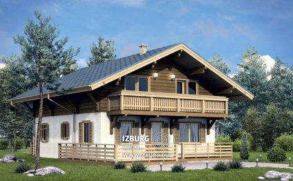 Загородный дом Шале 166
