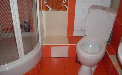ванная комната в хрущевке с душевой кабиной дизайн квартир